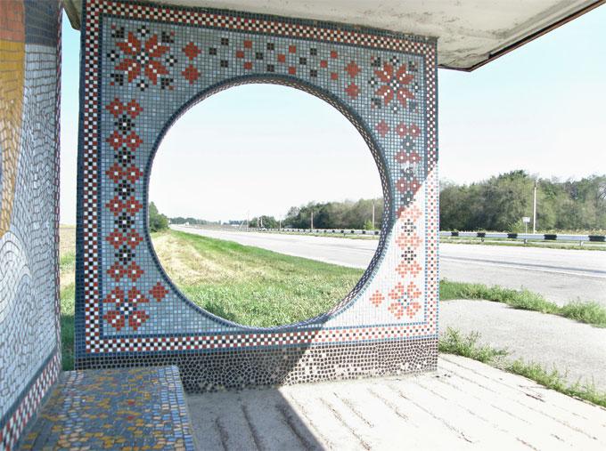 Остановка в Запорожской области