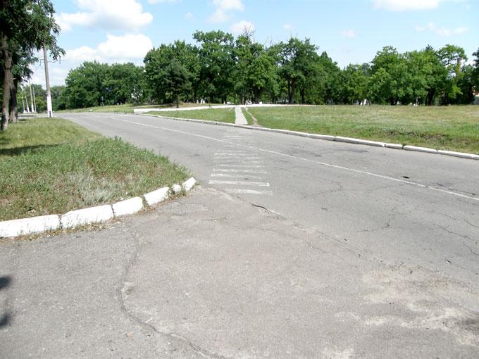 Пешеходный переход в Черкасском